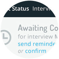 schedule interview