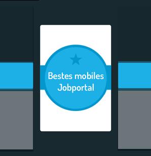 Bestes mobiles Jobportal