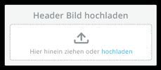 Upload Header Image