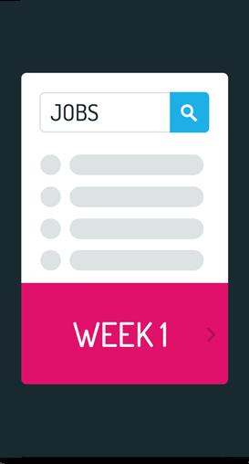 68% der Jobsuchenden gehen mehr als einmal wöchentlich mit ihrem Smartphone auf Stellensuche
