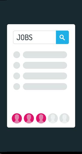 3 von 5 Jobsuchende haben im letzten Jahr auch mobil nach Jobs gesucht
