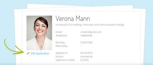 Edit your job postings and candidates profiles