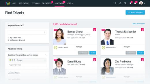 softgarden Talent Network