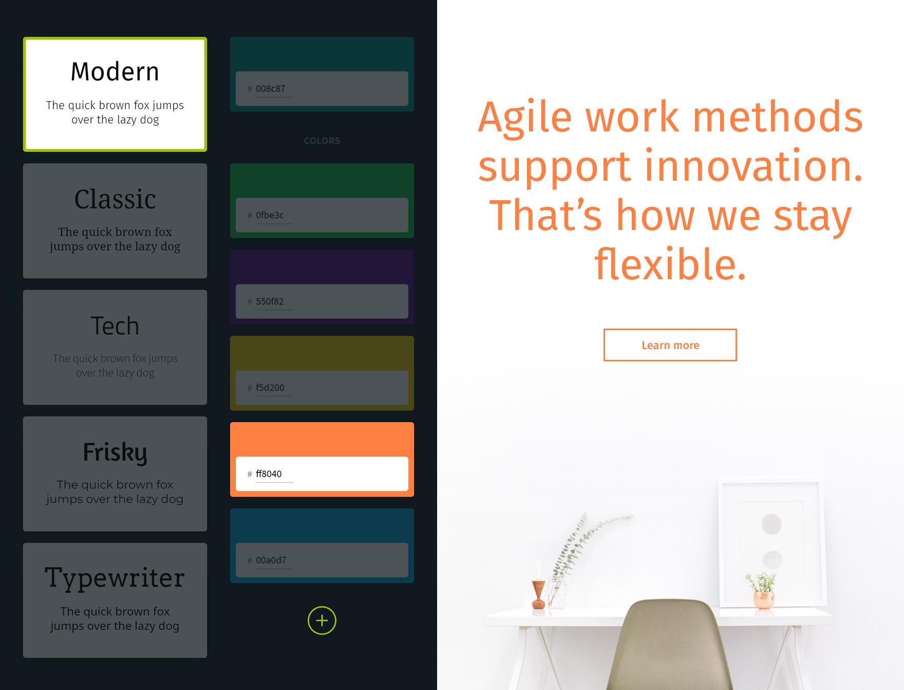 Karriereseite Pro nach eigenen Design-Vorstellungen - EN