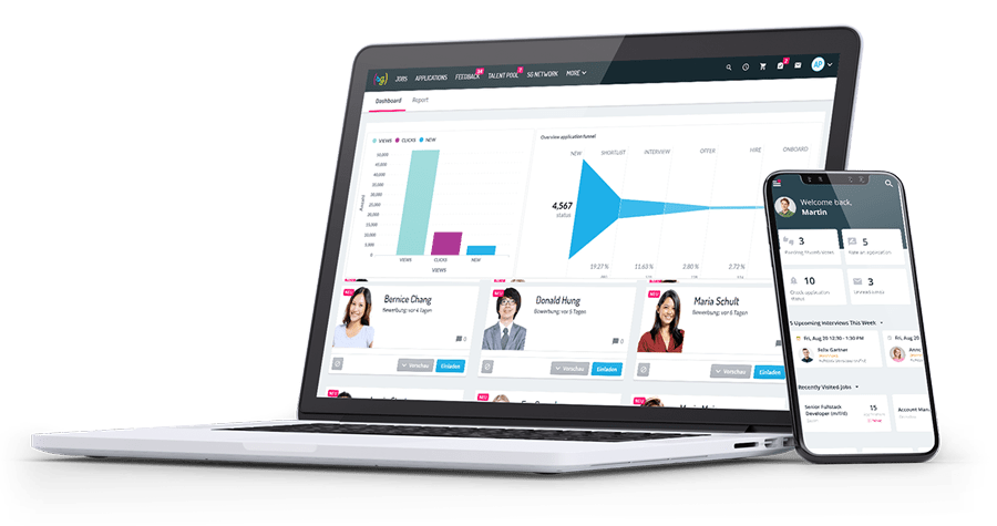 softgarden e-recruiting and applicant tracking system