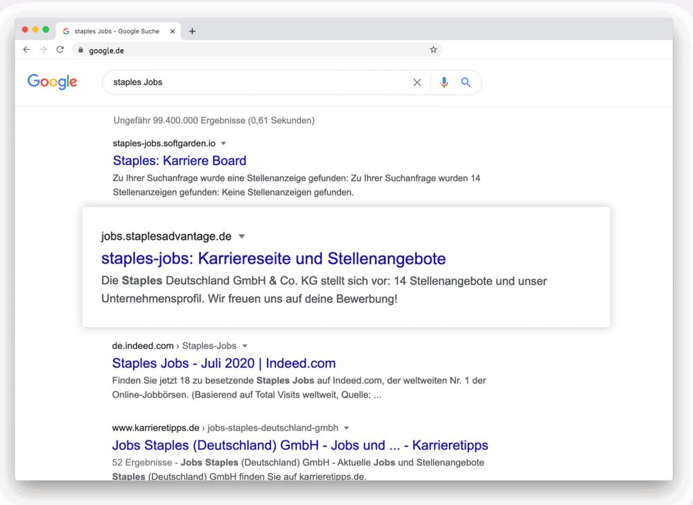 get found on Google